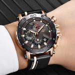 Quartz Military Sport Luminous Dial Chronograph Top Brand Luxury