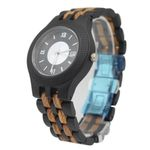 Newest Black Wooden Watch WithFull wooden Case Fashion