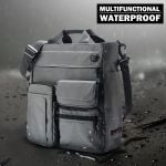 Waterproof Large Capacity Crossbody Bag Multifunction Nylon Business