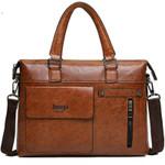 Designer Brands Business Briefcase Leather Shoulder Bags