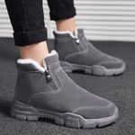 Sonw boots  ankle shoes classic suede boots warm plush zipper elegant