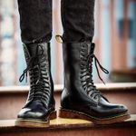 Unisex Popular Motocycle  Size  High-Top Combat Boots