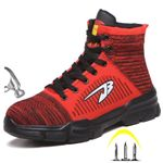 New Anti Smashing Cotton Steel Toe Work Shoes High Top Boots