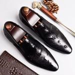 Genuine leather casual shoes business dress banquet suit shoes