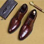 formal shoes leather oxford shoes for dressing wedding