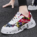Vintage Sneakers Breathable Mesh Casual Shoes Comfortable Fashion