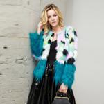 Fashion Faux Fur Coat Boho Shaggy Coats Outerwear
