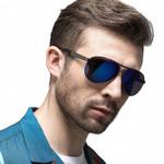 NEW High quality Retro Polarized Sunglasses  Classic Brand Designer