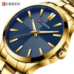 Watches Luxury Brand Gold Stainless Steel Band Luxury Quartz Watch