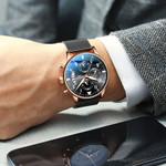 Watch Luxury Brand Watch Male Clock Business Classic Quartz Sport