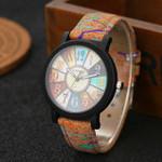 New wood watch quartz male sports Wristwatch Fashion