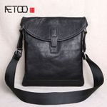 The first layer of leather ultra-thin casual small shoulder bag
