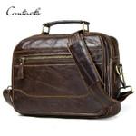 new oil cow leather  messenger bag satchel bag