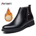 Fashion Chelsea Boots Leather Boots Dress Shoes