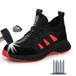 Safety Boots Shoes Sneakers Breathable Anti-Smashing Lightweight