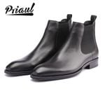 Boots Genuine Leather Handmade Office Formal Wedding