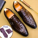 formal shoes genuine leather oxford