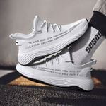 Shoes Soft Knit Casual Sneakers Luxury Brand Breathable Light Spring