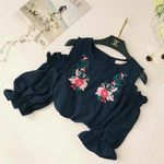 Casual Tops Boho Beach Short SleeveBlouse Floral
