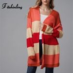Rainbow striped cardigans sweaters clothing knitwear
