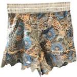 Hollow Lace Shorts brand Feminino Short Beach High Waist  Water
