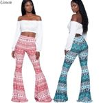 Boho Trousers Fitness Clothing Long Pants Casual Pattern