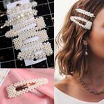 Korea Style Pearls Hair Pins Set Hair Clip Pin Barrette