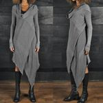 Sundress Kaftan Long Sleeve Tunic Vestidos Casual Robe