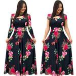 Plus Size Elegant Spring Tunic Dress