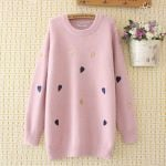 Plus-sized Sweater Hipster Versatile Colored