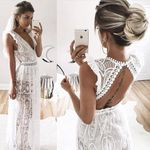 New Vintage Style Vestidos Party Maxi Dresses