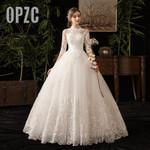 Half Sleeve wedding Train Vestido De Novia New