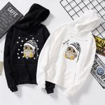 Hoodie Long Sleeve Sweatshirt Pocket Drawstring Kawaii Hooded