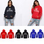 Couple Hoodies Lovers Hoodie King And Queen Sweatshirt