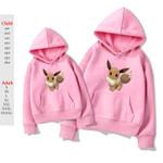 Pokemon Hoodie New Fleece Sportswear Sweatshirts