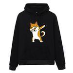 Pullover Fleece Kawaii Cartoon Shiba Inu Sweatshirt Hoodies Fashion