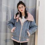 Brand New Thick Fleece Lining Warm Denim Jackets Fashion