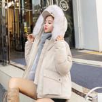 Coat Clothes Warm Parka Down Gold Velvet Cotton Coat