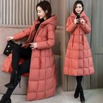 Jacket Parka Hooded Long Down Cotton Coat