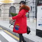 Two-side Wear Parka Jacket Long Coat