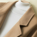 Wool Jacket Double-side Woolen Coat
