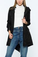DEWBERRY WOMAN COAT -BLACK