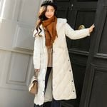 Duck White Thick Down Jacket Coats