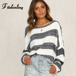 Big Size Loose Sweaters And Pullovers Knitwear