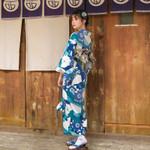 Japanese Kimono Costume Geisha Cosplay