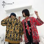 Japanese Kimono Cardigan Couple Yukata Floral