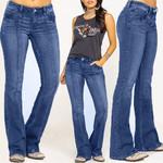 High Waist Jeans Casual Stretch Denim Pencil Pants