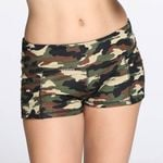 Hot Camouflage Print Athletic sports shorts