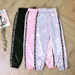 Big Pocket Satin Highlight Harem Pants