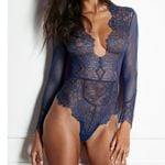 Romper Long Sleeve Transparent Lace Bodysuit Sexy